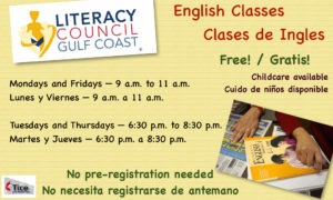 English classes at Tice